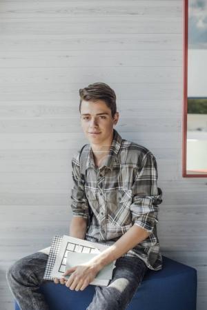 Portrait of Student Boy