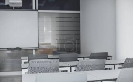 Modern High School Classroom