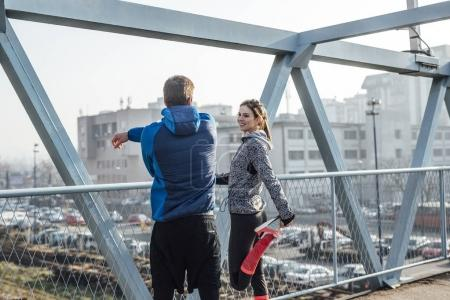 Couple Doing Training Together