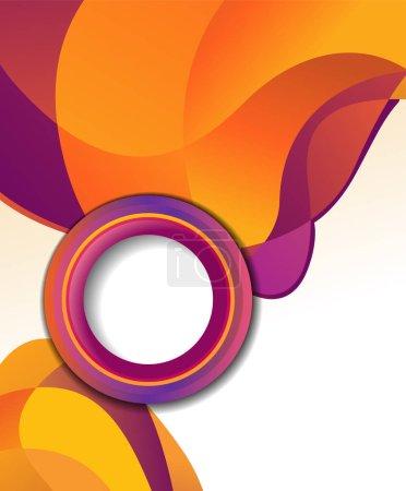 Background concept design for brochure