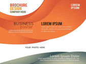 Stylish presentation poster template