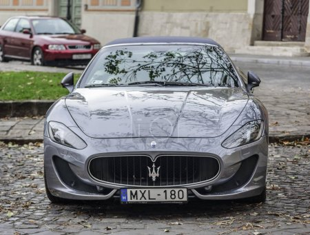Maserati Granturismo Parked on the