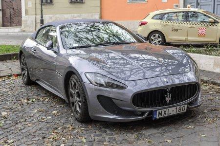 Maserati Granturismo Parked on the