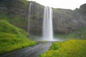 Seljalandsfoss,the most beautiful waterfalls,South of the island