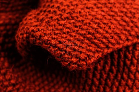 Knitted wool texture background