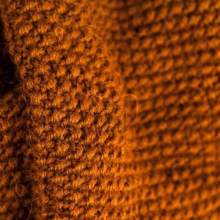 Winter knitting wool