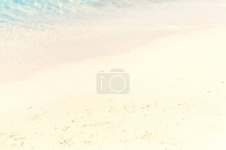 sand with blurred sea