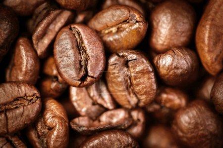 Coffee beans macro wallpaper.