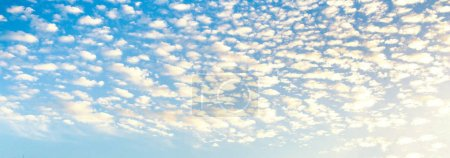Photo for Cloudy sky abstract background. Smooth gradient background light blue color - Royalty Free Image