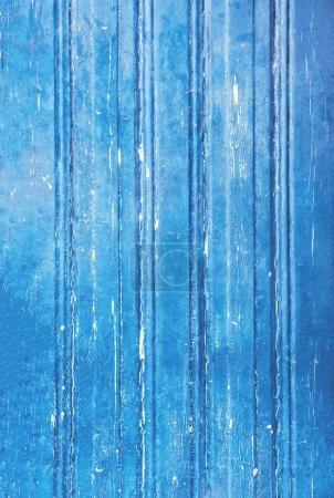 Textured wooden wall