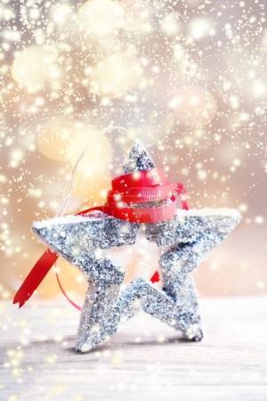Christmas festive star