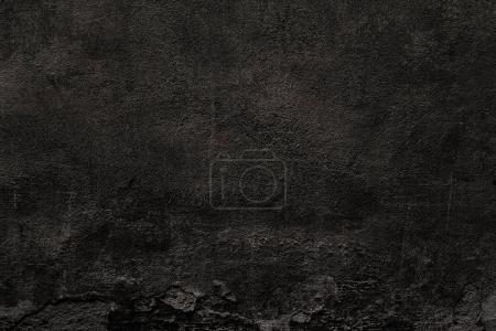 Black wall texture of natural cement, concrete wall.