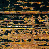 Wooden distressed texture or background / painted background old panel