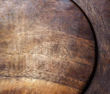 Wood old vintage texture background with natural pattern for design. Brown  wooden cutting board