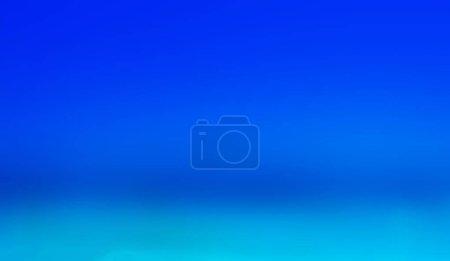 Photo pour Flou abstrait et défocalisé Summer beach et douce vague fond bleu - image libre de droit