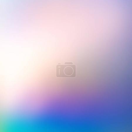 Photo pour Gradient défocalisé abstrait de lumières d'hologramme - image libre de droit