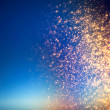 Glitter lights abstract background with sparkle st...