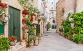Scenic sight in Monopoli, Bari Province, Puglia (Apulia), southern Italy.