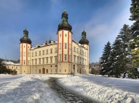 Vrchlabi manor in Czech republic