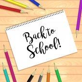 Back to school inscription