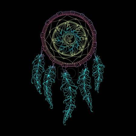 beautiful colored Dreamcatcher