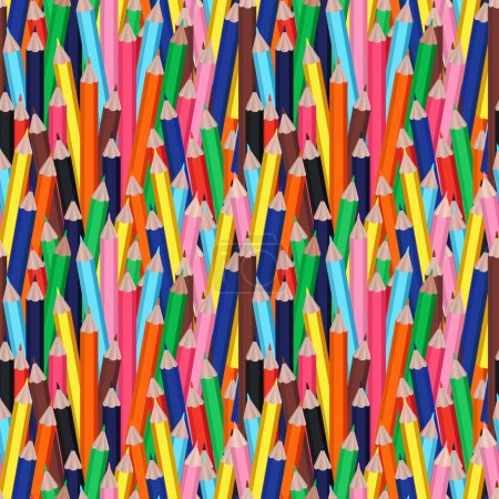 Seamless pattern or backdrop with clorful, multico...