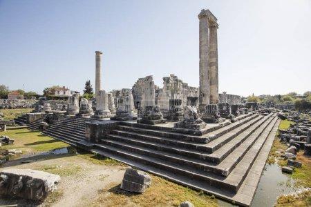 Temple of Apollo in antique city of Didyma....