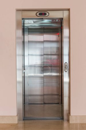 Image of elevator in an apartment house...
