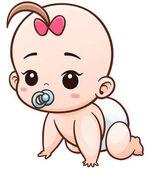 Baby Cartoon Character
