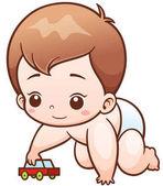 Cartoon Cute Baby
