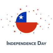 Independence day of Chile Patriotic Banner Vector illustration