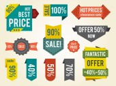 Hot Prices Sale Clearance Vector Illustration