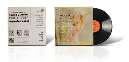 Old used vinyl album Tema