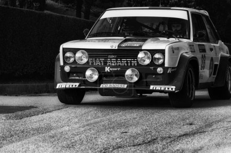 Фиат 131 Абарт 1977 старый