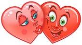 Hearts Emoticons Smiley Emoji