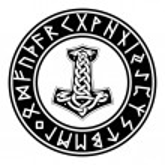 Mjollnir. Futhark. Rune. Paganism...