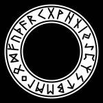 Runes Futhark Algiz Norse Heathen Paganism Occult...