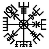 Vegvisir Runen Norse Paganism