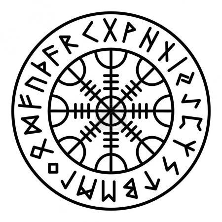 Aegishjalmur Heathen Paganism Norse Culture Nordic...