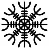 Aegishjalmur Pagan Symbol