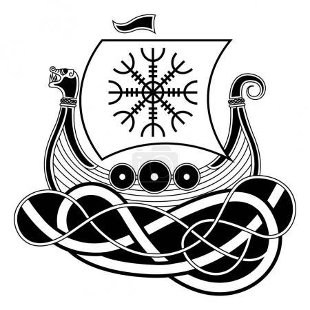 Drakkar Aegishjalmur White