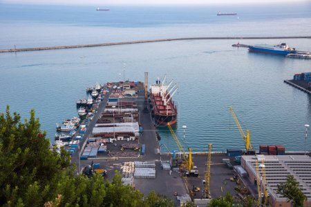 Industrial zone od Salerno port