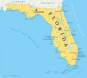 Florida political map