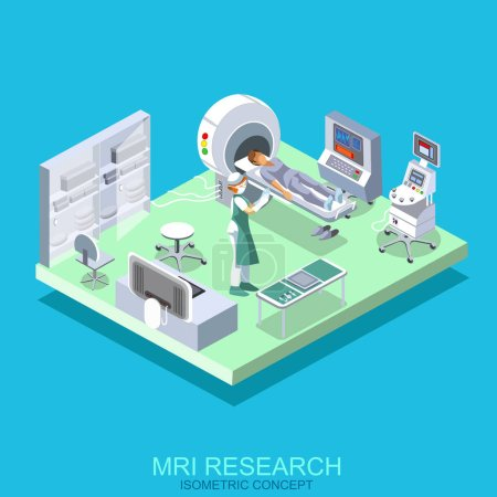 Medical institution with cabinet MRI