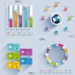 Infographic elements data visualization vector des...