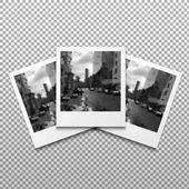 Set of photo frame polaroid frames