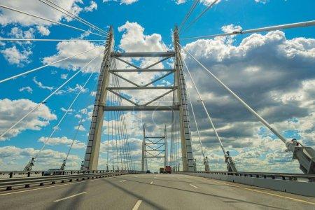 Saint-Petersburg. Bridges Of St. Petersburg. Obukhovskiy bridge.