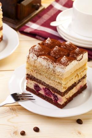 sweet tiramisu cake