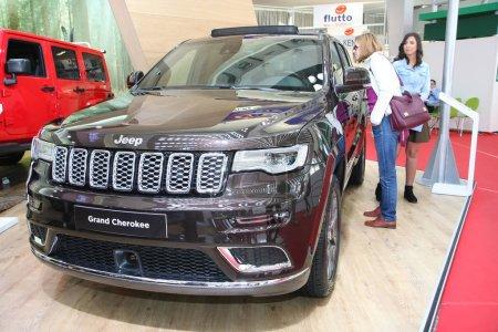 Jeep at Belgrade Car Show