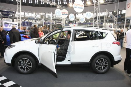 Toyota at Belgrade Car Show